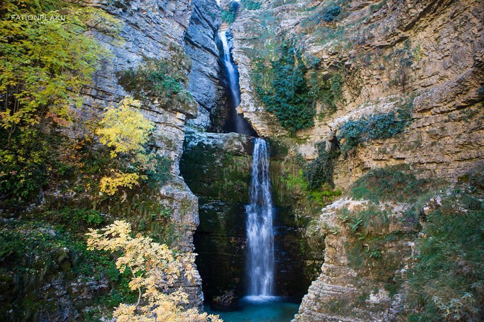Peshtura waterfall